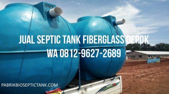 Jual Septic Tank Fiberglass di Depok