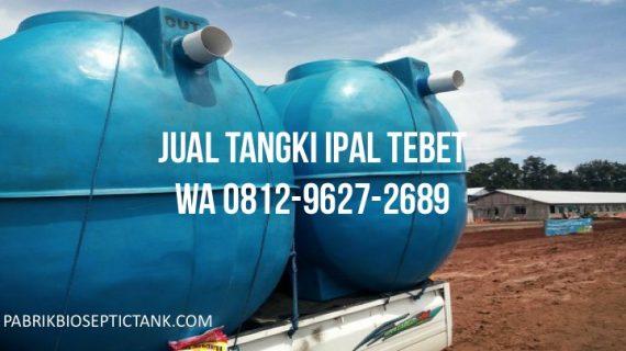 Jual Tangki IPAL di Tebet Jakarta Selatan
