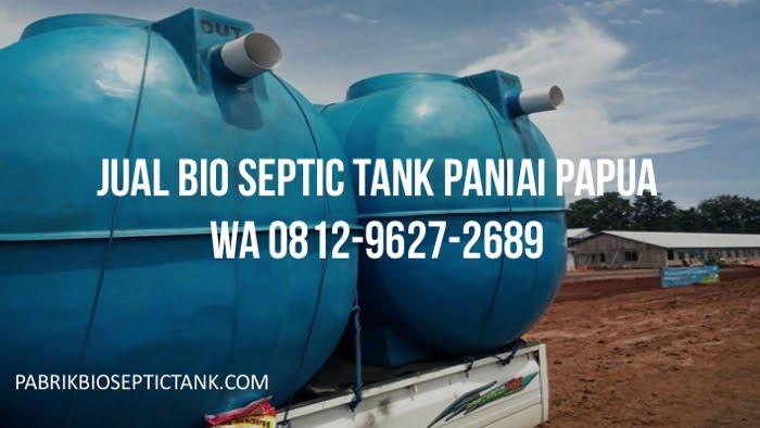 Pabrik Bio Septic Tank Melayani Paniai Papua